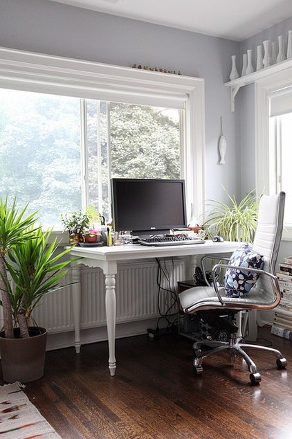eclectic home office by 8Foot6