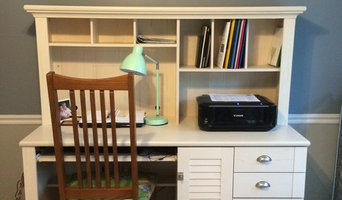 Shared home office and play room