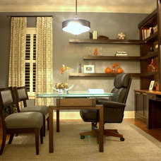 Contemporary Home Office by Shari Misturak