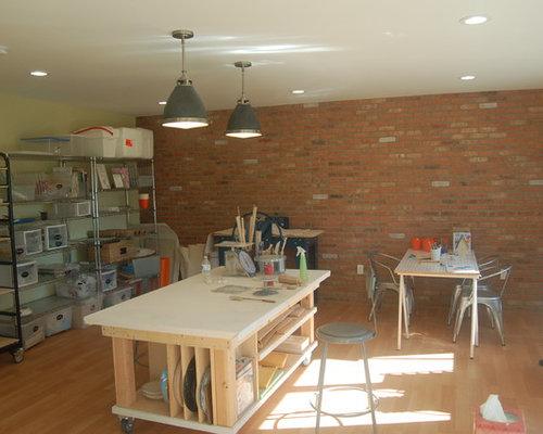 Modernes arbeitszimmer mit gelben w nden ideen f r ihr for Schreibtisch york