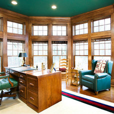 Traditional Home Office by Residential Designed Solutions