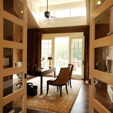 Traditional Home Office by VanBrouck & Associates, Inc.