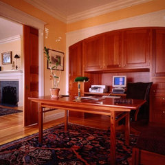 traditional home office by Gleicher Design Group