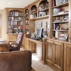 Traditional Home Office by Showplace Wood Products