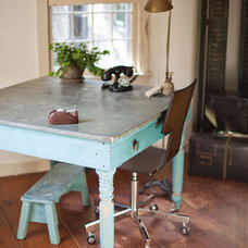 Farmhouse Home Office by Tess Fine