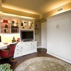 traditional home office by Valet Custom Cabinets & Closets