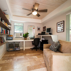 Traditional Home Office by Zuri Custom Homes & Renovations