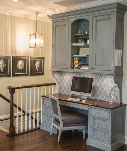 Traditional Home Office by Past Basket Design