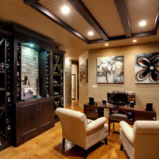 Traditional Home Office by Norelco Cabinets Ltd