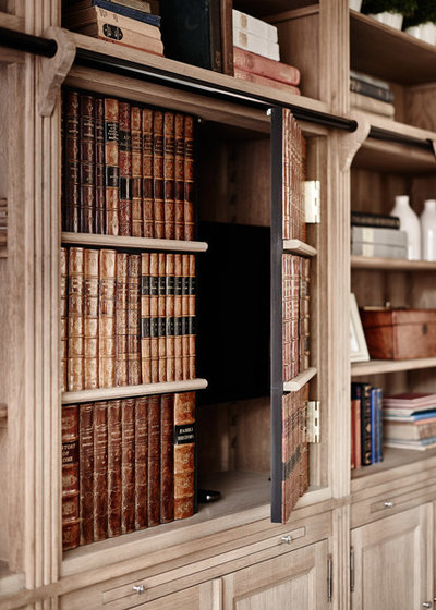 Country Home Office & Library by Sims Hilditch