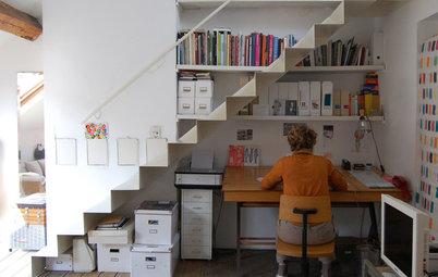 Det finns plats för ett hemmakontor – under din trapp