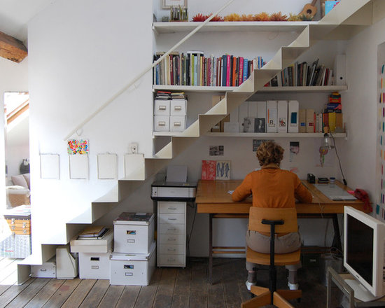 Delectable 70+ Office Under Stairs Decorating Design Of 15 Smart ...