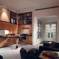 Traditional Home Office by Gleicher Design - Architecture & Interiors