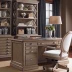 Custom Executive Desk Traditional Home Office Denver