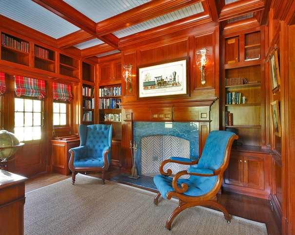 Traditional Home Office by Country Club Homes