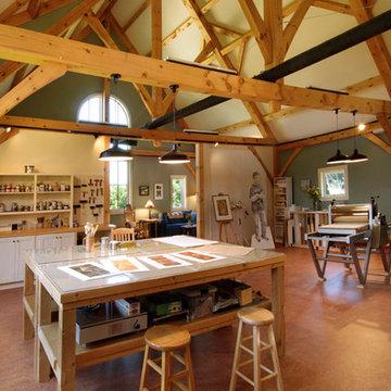 Solar Green Living Farmhouse