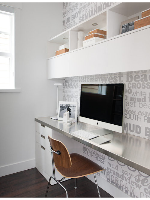 officemodern home office ideas. minimalist home office photo in vancouver officemodern ideas