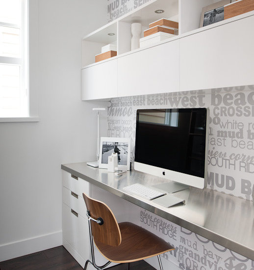 Modern Home Office modern home office design ideas, remodels & photos