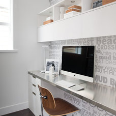 Modern Home Office by Portico Design Group