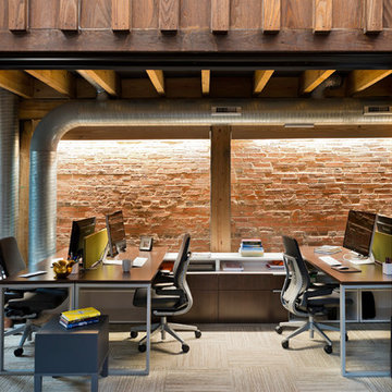 Solstice House Exposed Brick Wall