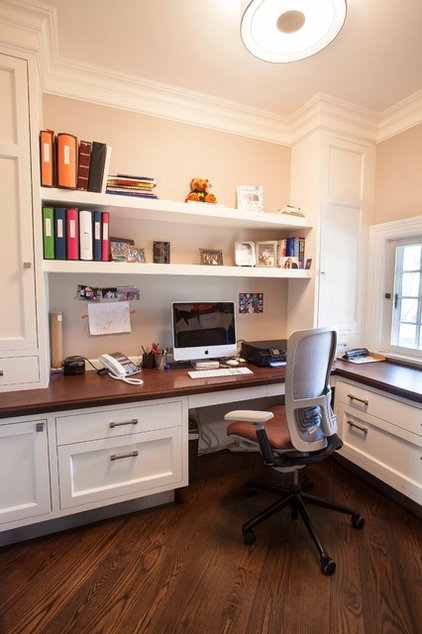 Transitional Home Office by John Johnstone