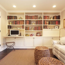 Traditional Home Office by Julia Katrine Designs