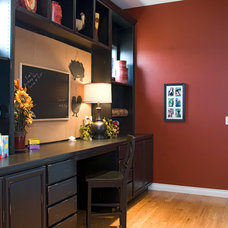Traditional Home Office by Sopris Homes