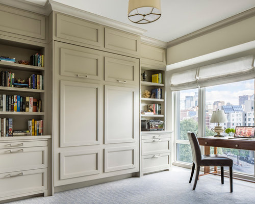 Transitional Home Office transitional style home office – home photo style