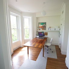 Modern Home Office by New England Design & Construction