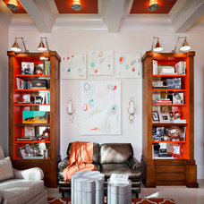 Contemporary Home Office by Karen Giffel Interior Design, LLC