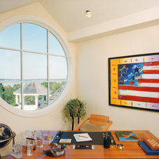 Contemporary Home Office by Joseph T. Deppe, Architect, P.C.