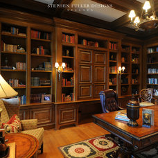 Traditional Home Office by Stephen Fuller Designs