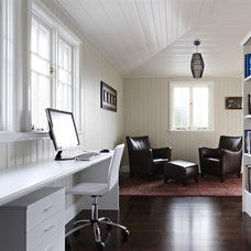 Contemporary Home Office by Dan the Sparky Man