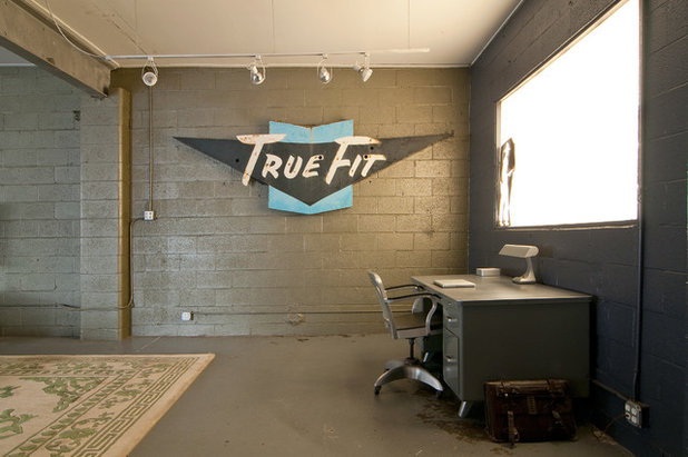 Industrial Home Office by Lucy Call