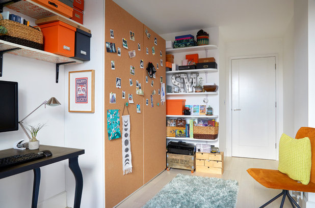 Contemporary Home Office by Kia Designs