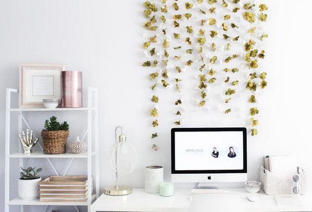 Contemporary Home Office |Spring-Summer DIY|