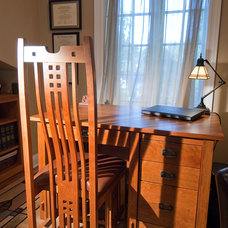 Craftsman Home Office by Plain and Simple