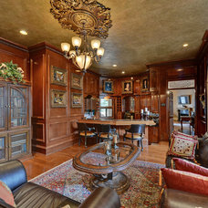 Traditional Home Office by Envision Web