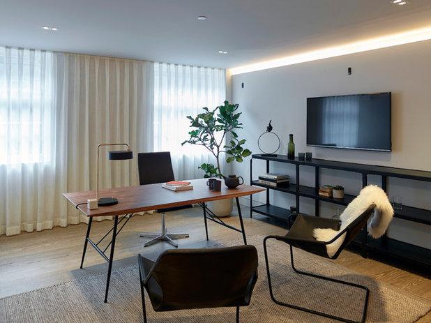 コンテンポラリー ホームオフィス・書斎 by Originate Architects