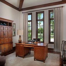 Traditional Home Office by Imperial Homes of Southwest Florida Inc