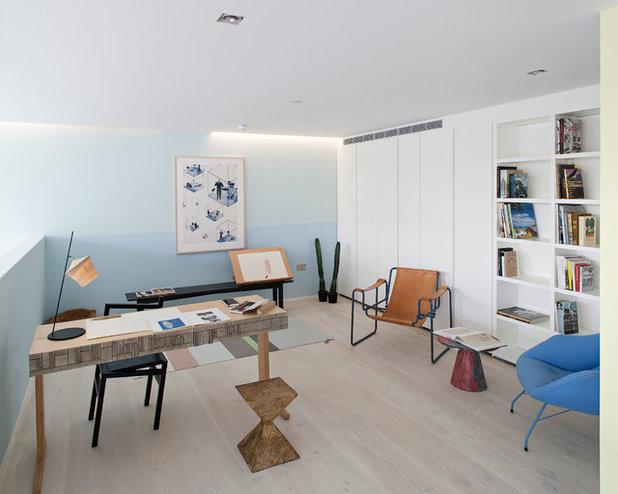 Scandinave Bureau à domicile by Peter Landers Photography