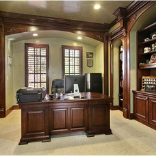 Traditional Home Office by Ryan Homes, Inc.