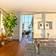 Contemporary Home Office by Arthur McLaughlin & Associates, Inc.