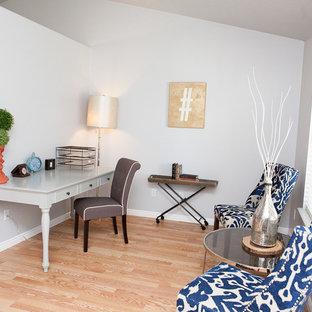 他の地域の北欧スタイルのおしゃれなホームオフィス・仕事部屋の写真