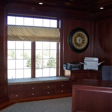 Traditional Home Office by J. Timothy Builders, Inc.