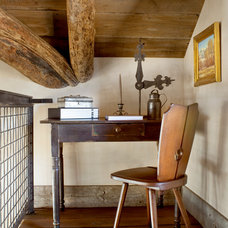 Rustic Home Office by Peace Design
