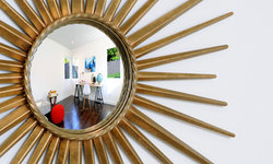 Starburst Mirror with Room Reflection