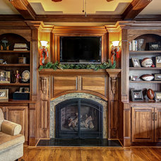 Traditional Home Office by Wolford Building & Remodeling