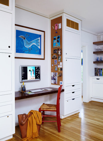 Contemporary Home Office by Standard Creative