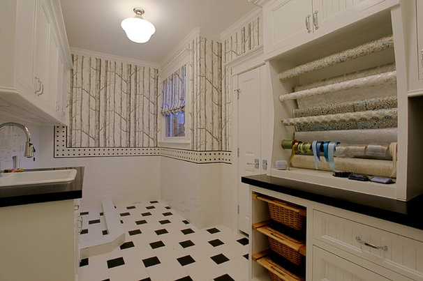 Traditional Laundry Room by Stone Acorn Builders